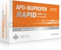 Apo-Ibuprofen Rapid 400mg por cps mol 20x400mg